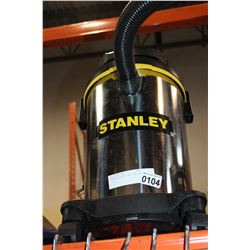 STANLEY 2.8HP WET DRY SHOPVAC