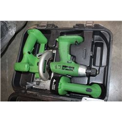 SUPERIOR CASED CORDLESS TOOLS