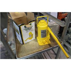 BRICO 15 TON HYDRAULIC BOTTLE JACK