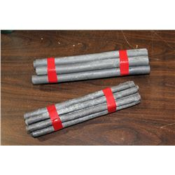 LOT OF LEAD RODS