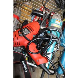 MAKITA ANGLE GRINDER AND BLACK AND DECKER DRILL