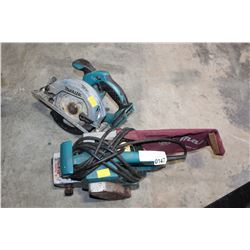 MAKITA CURCULAR SAW AND BELT SANDER