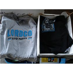 BOX OF LORDCO TSHIRTS