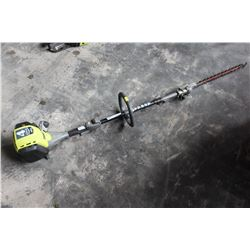 RYOBI GAS 4 CYCLE POLE HEDGE TRIMMER