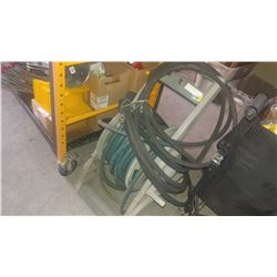 HOSE REEL AND HOSES