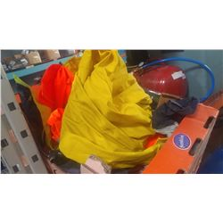 LOT OF HIGH VIS RAIN GEAR