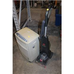 BISSELL CARPET CLEANER AND FLOOR AC UNIT