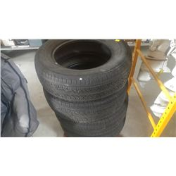 SET OF FOUR YOKOHAMA 16 INCH TIRES