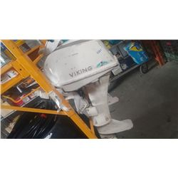 VIKING 9 OUTBOARD MOTOR AS IS