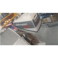 JOHNSON 4.0 OUTBOARD MOTOR AS IS