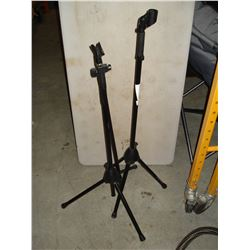 2 MIC STANDS