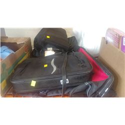 LOT OF BAGS AND BACKPACKS