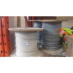 3 SPOOLS OF ELECTRICAL CABLE