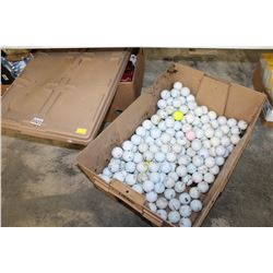 TOTE OF GOLF BALLS