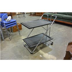 ROLLING FOLDING TROLLEY AND METAL STAND