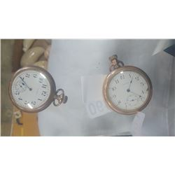 WALTHAM AND ELGIN POCKET WATCHES