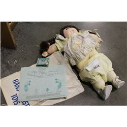 CABBAGE PATCH DOLL WITH PAPERS