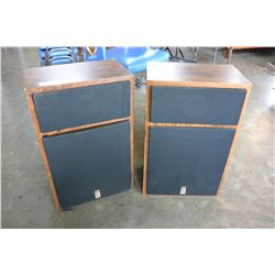 PAIR OF VINTAGE AUDIO TEC FLOOR SPEAKERS