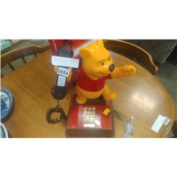 RETRO WORKING WINNIE THE POOH LANDLINE TELEPHONE