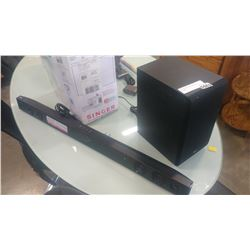 LG SOUND BAR AND WIRELESS SUB SPJ4BW