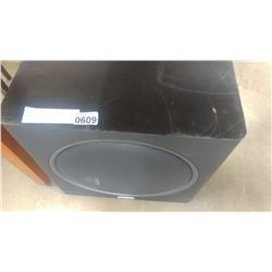 POLK AUDIO POWERED SUBWOOFER MODEL PSW125