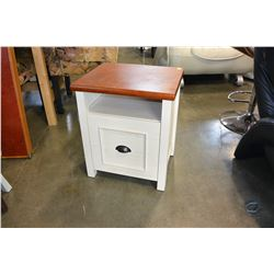 1 DOOR WHITE NIGHTSTAND