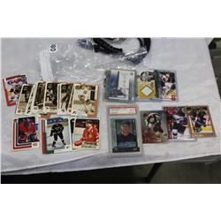 TWO BAGS OF COLLECTIBLE SPORTS CARDS