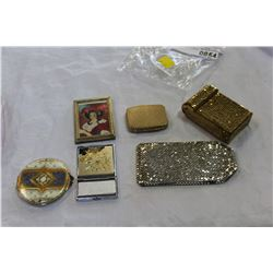 LOT OF DESIGNER CHANGE PURSES COMPACT ETC