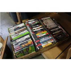 LARGE TRAY OF PS3 AND XBOX 360 GAMES
