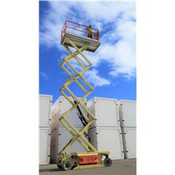 JLG 3246ES Aerial Scissor Lift, 32-Foot Working Height, 243 Hours