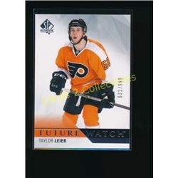 15-16 SP Authentic #193 Taylor Leier RC 631/999