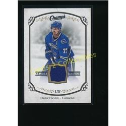 15-16 Upper Deck Champ's Jerseys Daniel Sedin