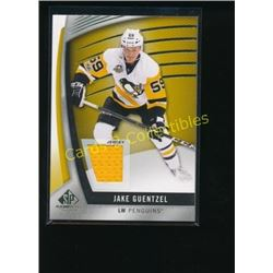 17-18 SP Game Used Gold #4 Jake Guentzel Jersey