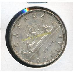 1960 Canadian Silver $1 Coin