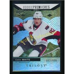 17-18 Upper Deck Trilogy #55 Colin White RC
