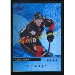 17-18 Upper Deck Trilogy Blue #16 Corey Perry