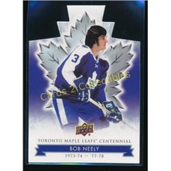 17-18 Toronto Maple Leafs Die Cut Bob Neely