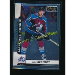 17-18 O-Pee-Chee Platinum #176 Alex Kerfoot RC
