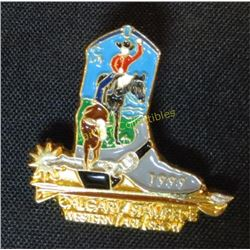 1999 Calgary Stampede Western Art Show Pin