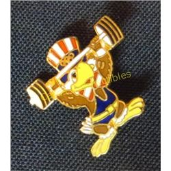 Sam The Eagle Olympic Mascot Collector Pin
