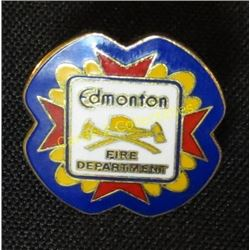Edmonton Fire Department Collector Pin