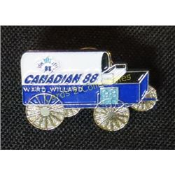 Ward Willard 98 Chuck Wagon Pin