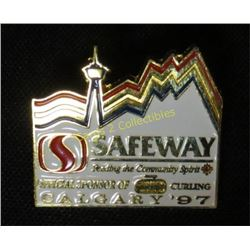 Safeway Curling Calgary 97 Collector Pin