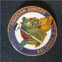 1999 Kelowna B.C. Canada Juniors Curling Pin