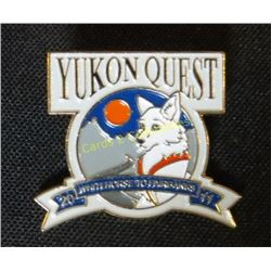 Yukon Quest Whitehorse to Fairbanks 2011 Pin