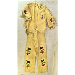 Blackfoot Childs Beaded Outfit