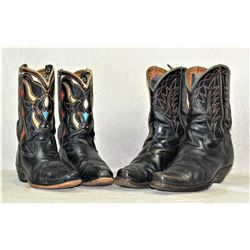 Grouping of Cowboy Boots