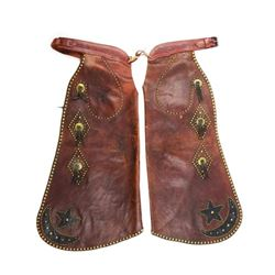 Heiser Studded Batwing Chaps