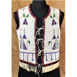 Sioux Beaded Vest