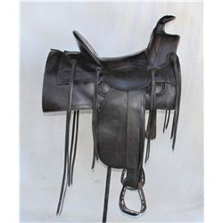 Early Gallup & Frazier Saddle